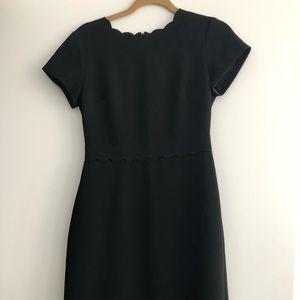 Club Monaco Black Scalloped Dress Size 2